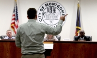 Montgomery City Council considered two variances for Promocon USA LLC. (Andy Li/Community Impact Newspaper)