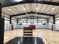 Home Court Training Center has an indoor basketball court. (Courtesy Home Court Training Center)
