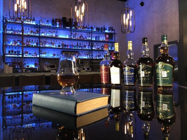 The speakeasy bar serves rare whiskey and craft cocktails. (Courtesy Rare Books Bar)