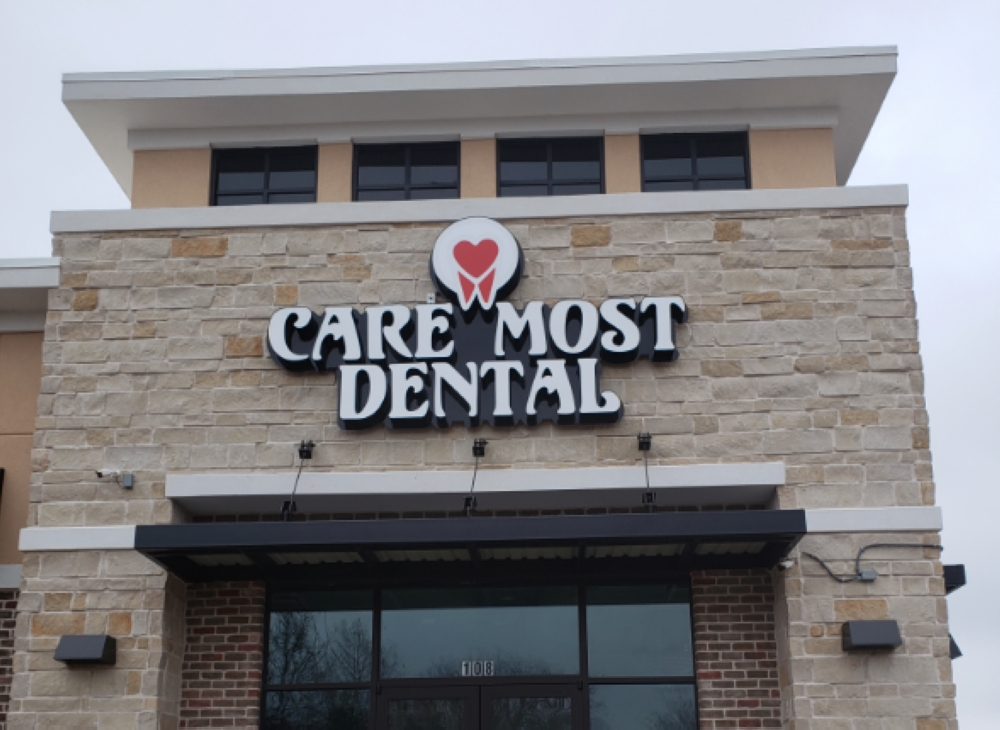 Care Most Dental expects to open in March or April. (Barb Delk/Community Impact Newspaper)