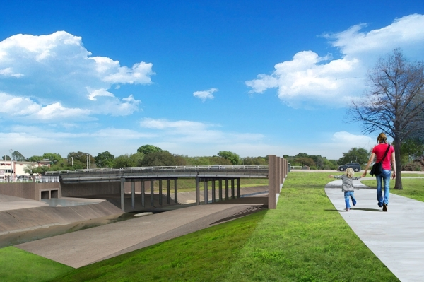 Hillcroft Avenue bridge rendering