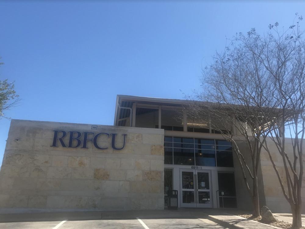 RBFCU will celebrate its opening with a ribbon-cutting ceremony Feb. 28. (Amy Rae Dadamo/Community Impact Newspaper)