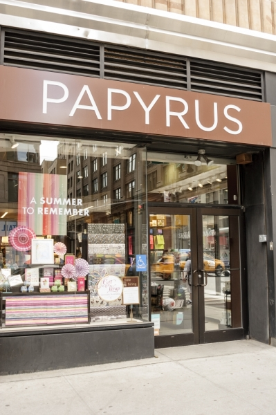 All Papyrus stores have or will be closing following bankruptcy filings. (Courtesy Adobe Stock)