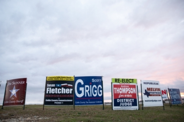 Polling locations are open from 7 a.m.-7 p.m. March 3 in Collin and Denton counties. (Liesbeth Powers/Community Impact Newspaper)