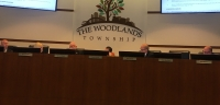 The Woodlands Township board of directors was briefed with updates on the coronavirus during a Feb. 20 meeting. (Vanessa Holt/Community Impact Newspaper)