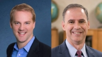 Casey Ford and Doug Noell will face off May 2 in the GCISD board of trustees race for Place 6. (Courtesy Casey Ford/Courtesy Doug Noell)