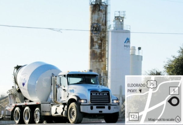 Two concrete batch plants operating along SH 5 in McKinney may be forced to shut down as the city takes action through its zoning ordinances. (Cassidy Ritter/Community Impact Newspaper)