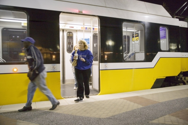 Dallas Area Rapid Transit will offer free rides on primary election day. (Courtesy Dallas Area Rapid Transit)