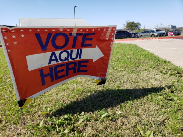 More than 46,000 Montgomery County voters cast ballots during the February early voting period ahead of the March 3 primary. (Ali Linan/Community Impact Newspaper)