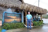 Owner Steve Tolhurst stands outside Noah's Ark. (Colleen Ferguson/Community Impact Newspaper)