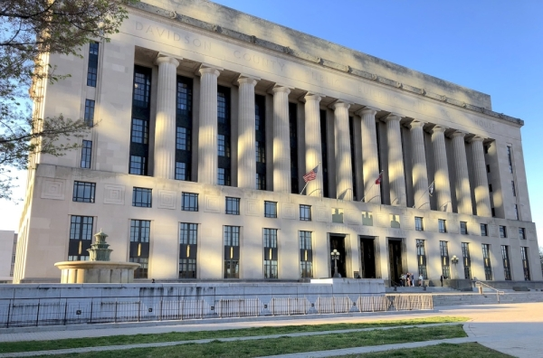 The Metropolitan Courthouse is located at 1 Public Square, Nashville. (Dylan Skye Aycock/Community Impact Newspaper)