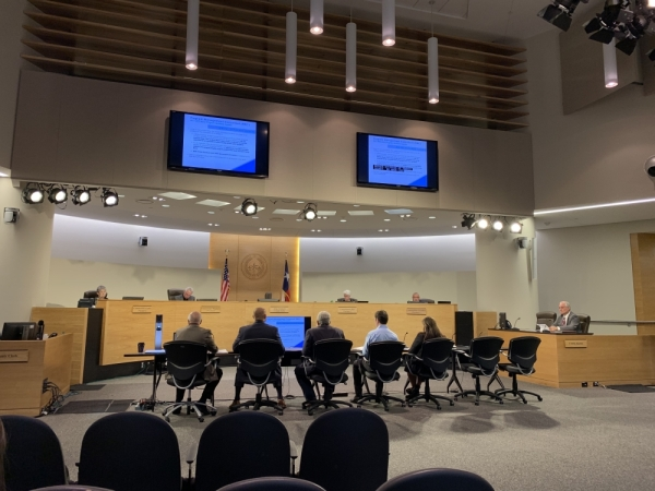 Travis County commissioners received an update March 3 about the progress of the 2017-22 bond program, the largest ever undertaken by the county. Emma Freer/Community Impact Newspaper
