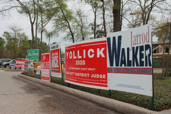 The primary election race for judge of Montgomery County's 457th Judicial District features a contested field of five Republican candidates, and one Democrat running uncontested. (Andy Li/Community Impact Newspaper)