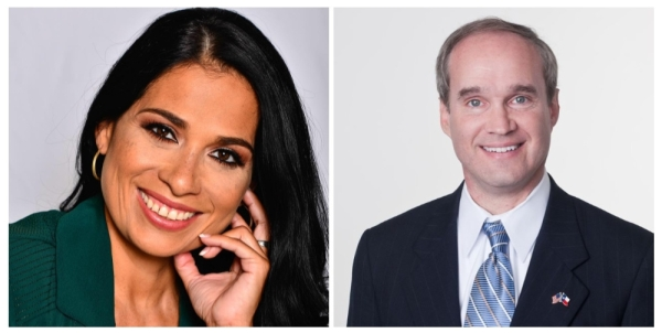 Angelica Garcia and Mike Schofield are facing off in the Texas House District 132 Republican primary.