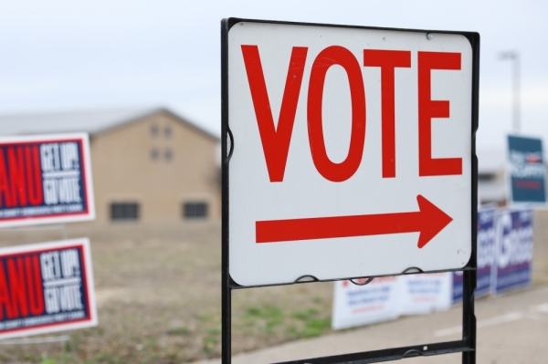 Denton County polling locations closed at 7 p.m. (Liesbeth Powers/Community Impact Newspaper)