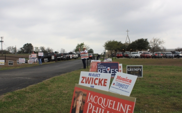 Michael Carpenter faces Cedric Edwards for Guadalupe County commissioner Precinct 3. (Community Impact Newspaper)
