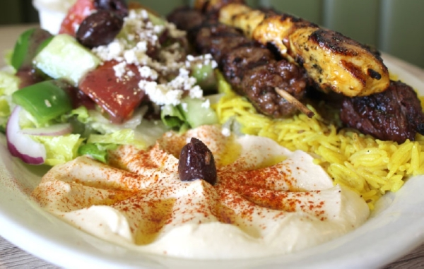 Green Corner Restaurant offers fresh Middle Eastern and Mediterranean food. (Alexa D'Angelo/Community Impact Newspaper)