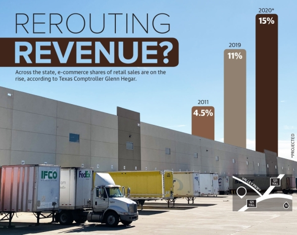 The majority of the online sales tax revenue Lewisville stands to lose if the comptroller's proposed rule is adopted is generated by a Bed Bath & Beyond distribution center, according to officials. (Anna Herod/Community Impact Newspaper)
