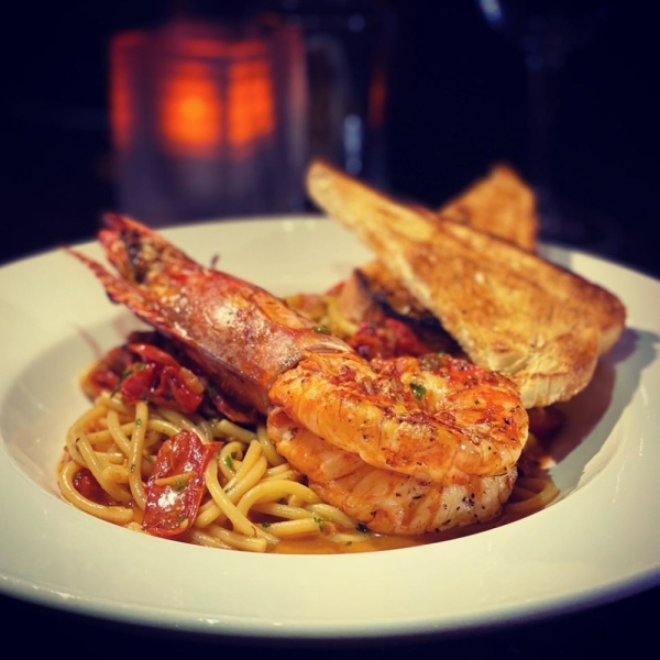 Gamberi Fra Diavolo featured at Avanti Italian Kitchen and Wine Bar. (Courtesy Avanti Italian Kitchen and Wine Bar)