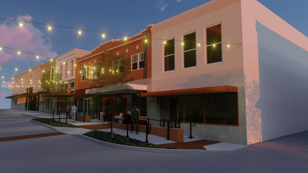 Various infrastructure improvements are set to start along Louisiana Street in May. (Rendering courtesy city of McKinney)