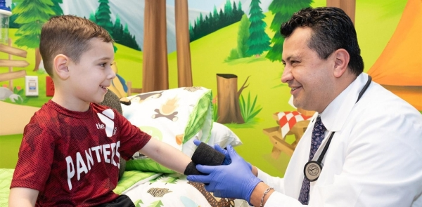 The facility opened in February in Irving. (Courtesy Trusted Pediatric Urgent Care)