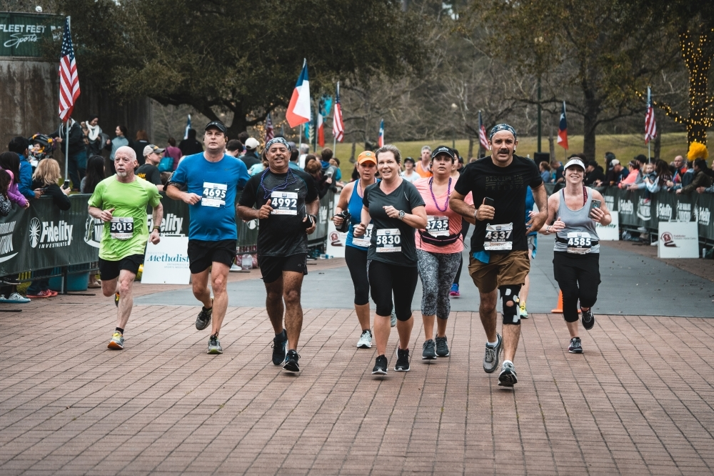 The Woodlands Marathon features full, half- and relay marathon races expected to affect traffic patterns in throughout The Woodlands on March 7. (Courtesy The Woodlands Marathon)