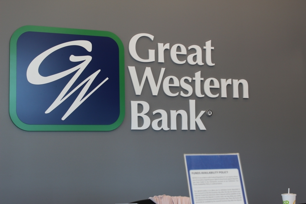 Great Western Bank is now open in downtown Chandler. (Alexa D'Angelo/Community Impact Newspaper)