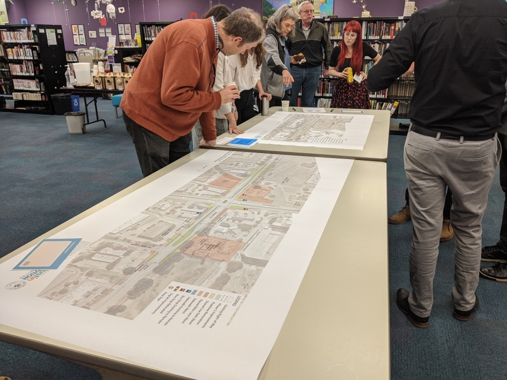 Burnet corridor open house