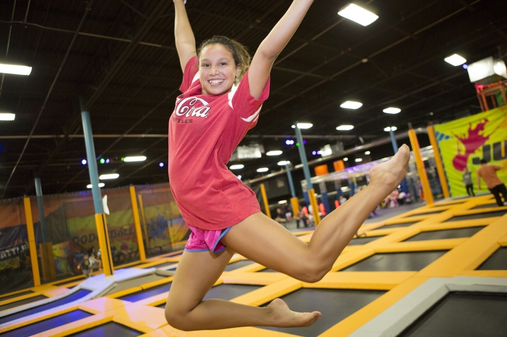 Urban Air Trampoline and Adventure Park opens March 7 in Katy. (Courtesy Urban Air Trampoline and Adventure Park)