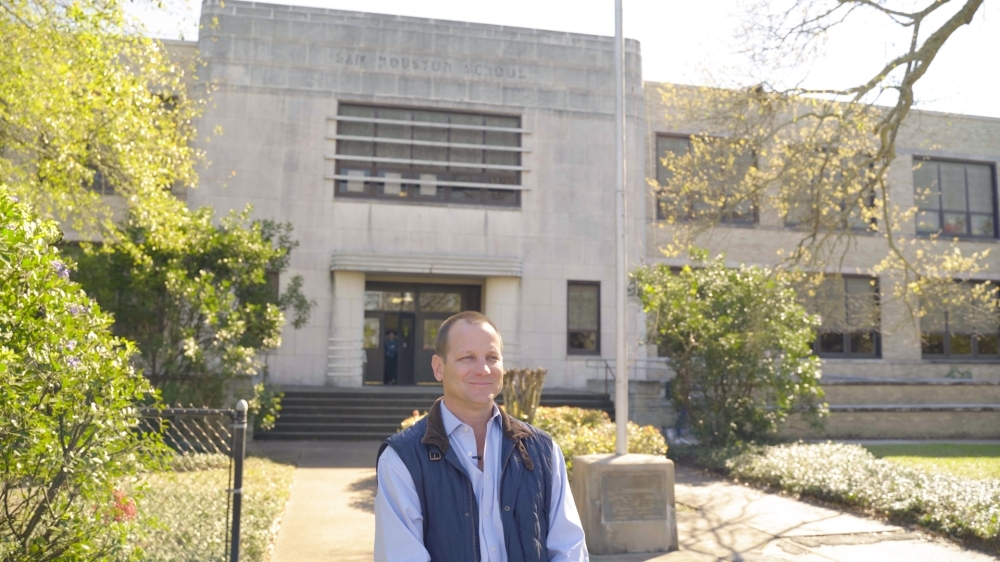Conroe City Council Member Jody Czajkoski said he is supportive of converting the aging Sam Houston Elementary School into a new performing arts center. (Photo courtesy Jody Czajkoski)