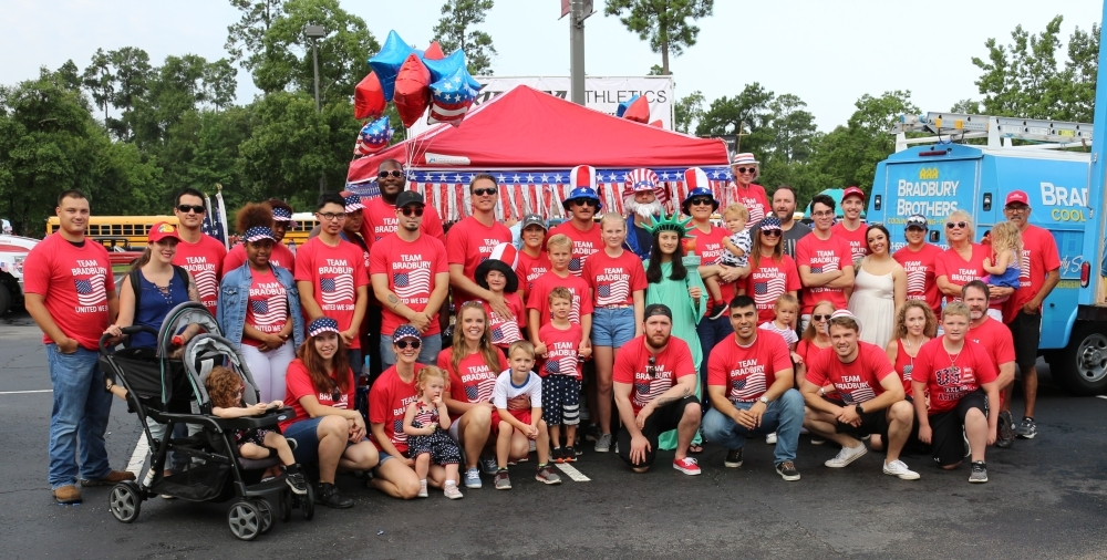 Bradbury Brothers participates in The Woodlands-area community events. (Courtesy Bradbury Brothers)