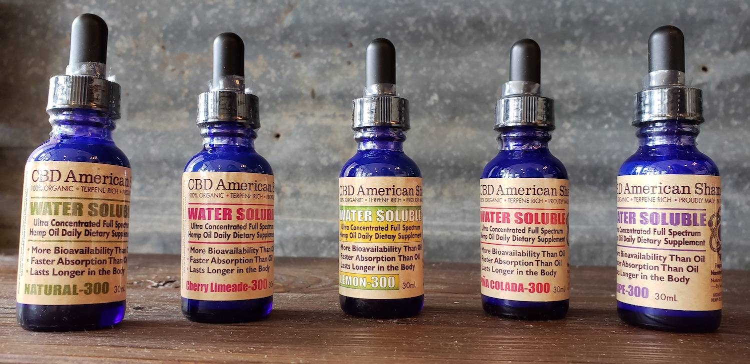 The store sells CBD-infused oils, creams, lotions and gummies. (Courtesy CBD American Shaman)