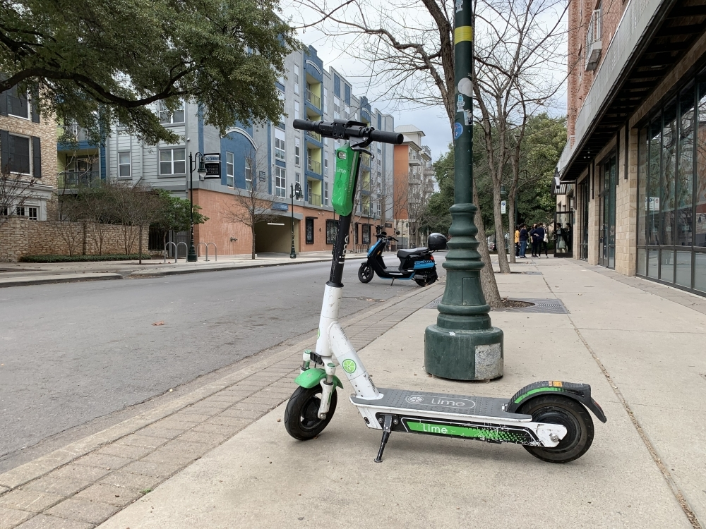 Franklin's Board of Mayor and Aldermen will consider an ordinance to ban electric scooters within the city on March 10. (Emma Freer/Community Impact Newspaper)
