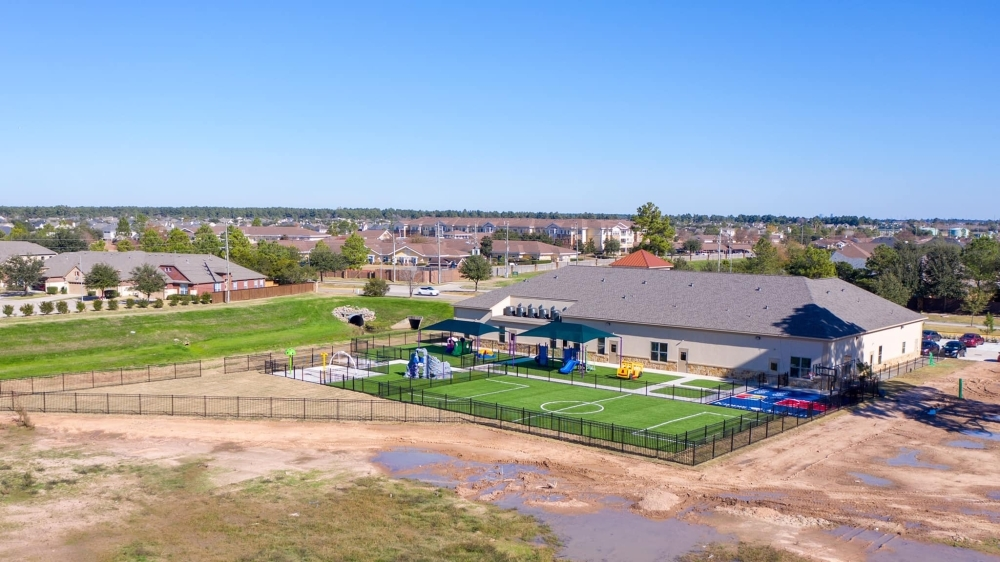 Construction for the Champion Forest Drive location began in December 2018, and the school opened Jan. 13. (Courtesy Kiddie Academy of Klein-Gleannloch)