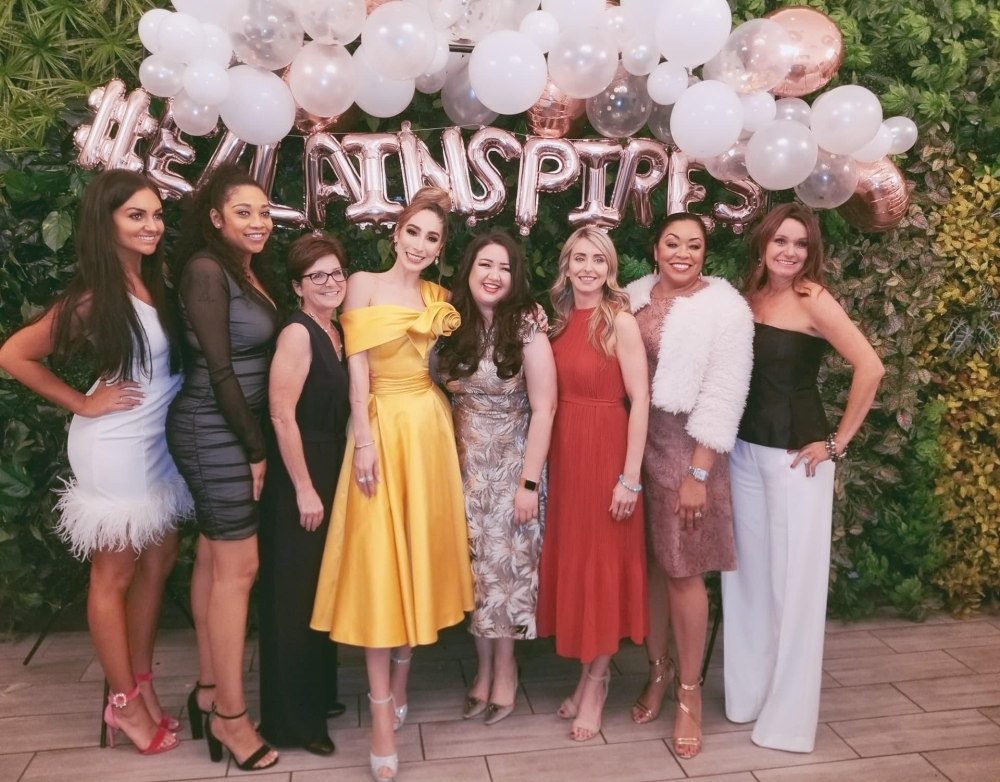 """Ella is the Spanish word for """"her,"""" and at Ella Inspires magazine it is meant to represent every woman who is chasing her dreams, according to the business. (Ella Creative Media LLC)"""