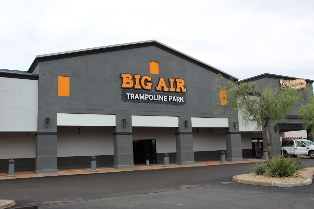 Big Air Trampoline Park is set to open in Chandler. (Alexa D'Angelo/Community Impact Newspaper)