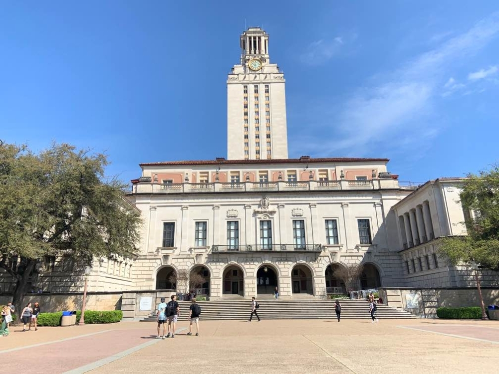 The University of Texas canceled all travel plans for employees as well as visits from prospective students in an effort to reduce the risk of the coronavirus spreading to the school. (Chase Karacostas/Community Impact Newspaper)