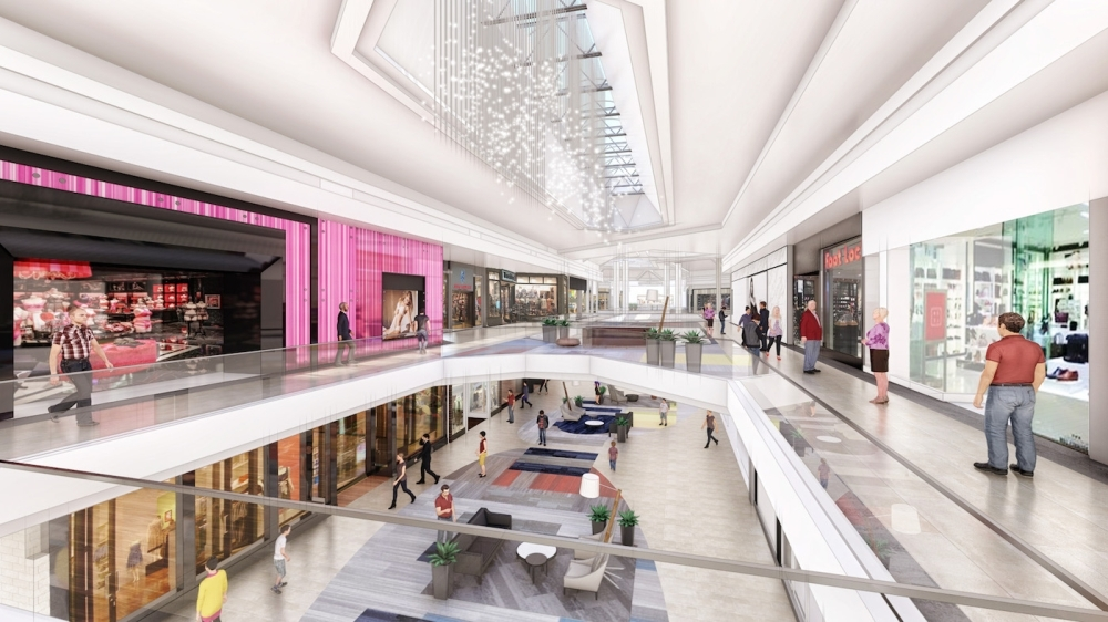 Renderings of the Barton Creek Square Mall's modernization plans were presented last February. (Courtesy Barton Creek Square Mall)
