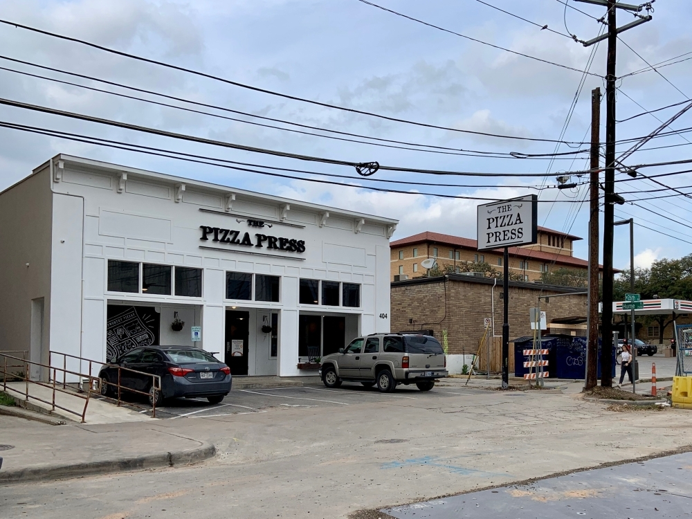 Some businesses along The Drag near The University of Texas have not yet noticed a decline in business since the campus closed March 13 to reduce the spread of coronavirus. (Chase Karacostas/Community Impact Newspaper)