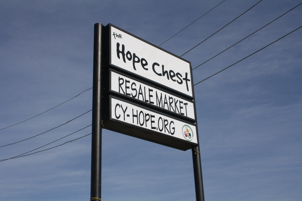 The Hope Chest Resale Market is located at 12015 Barker Cypress Road, Cypress. (Danica Smithwick/Community Impact Newspaper)