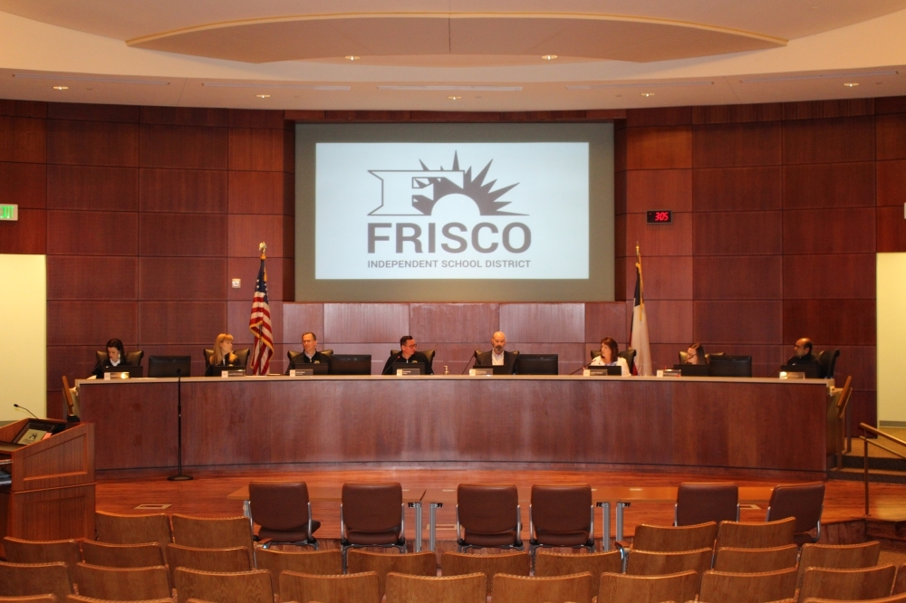 The Frisco ISD Board of Trustees approved a resolution declaring an emergency closure of schools as part of the district's response to the spread of coronavirus. (William C. Wadsack/Community Impact Newspaper)
