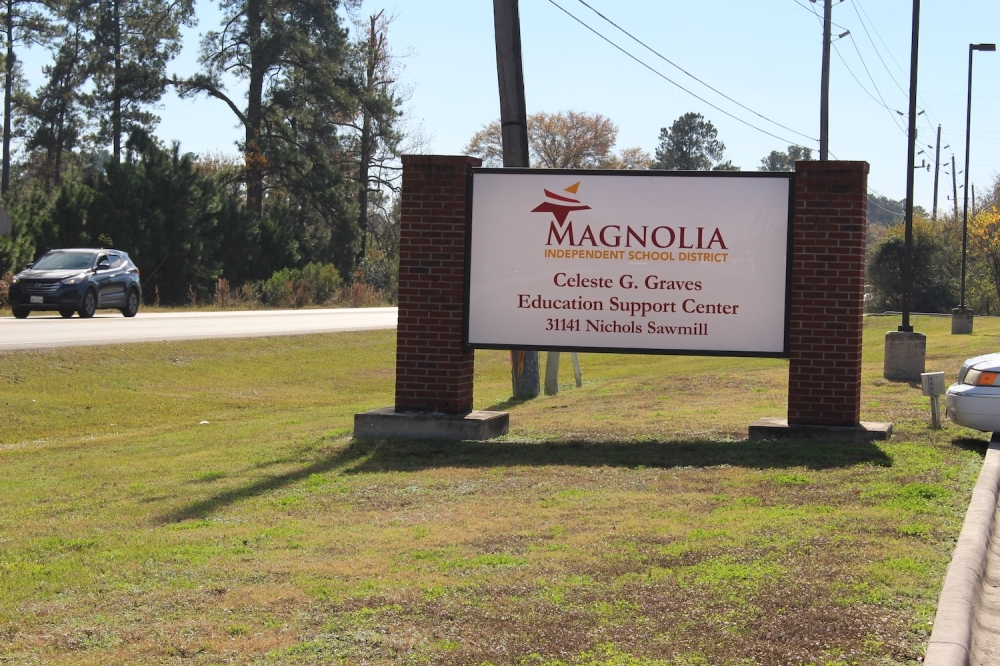 Students at Magnolia ISD will see campuses closed through April 10. (Anna Lotz/Community Impact Newspaper)