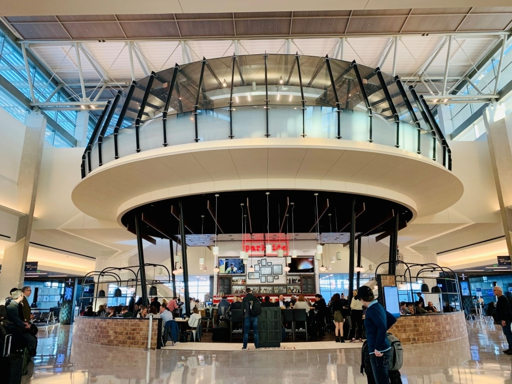 Rosendin, an electrical contracting company with its Central Texas office in Pflugerville, received an award for its work on the Delta Sky Club at Austin-Bergstrom International Airport. (Courtesy Rosendin)