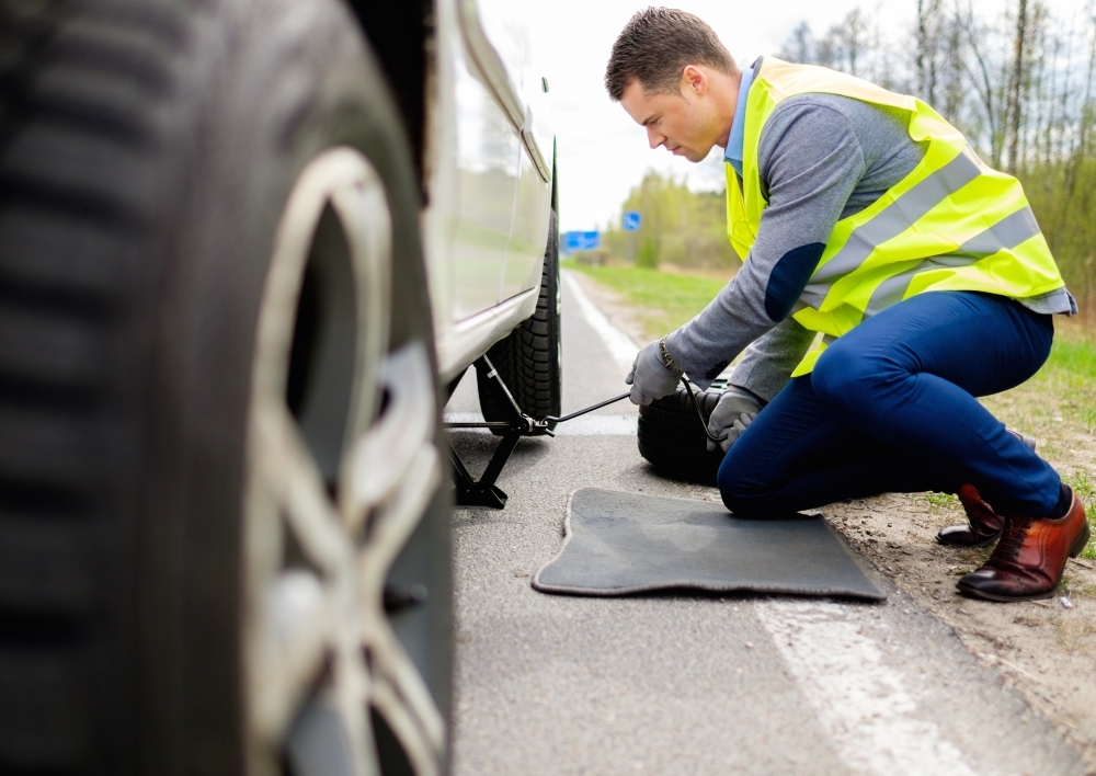 TJ's Road Service offers 24-hour roadside assistance. (Courtesy Adobe Stock)