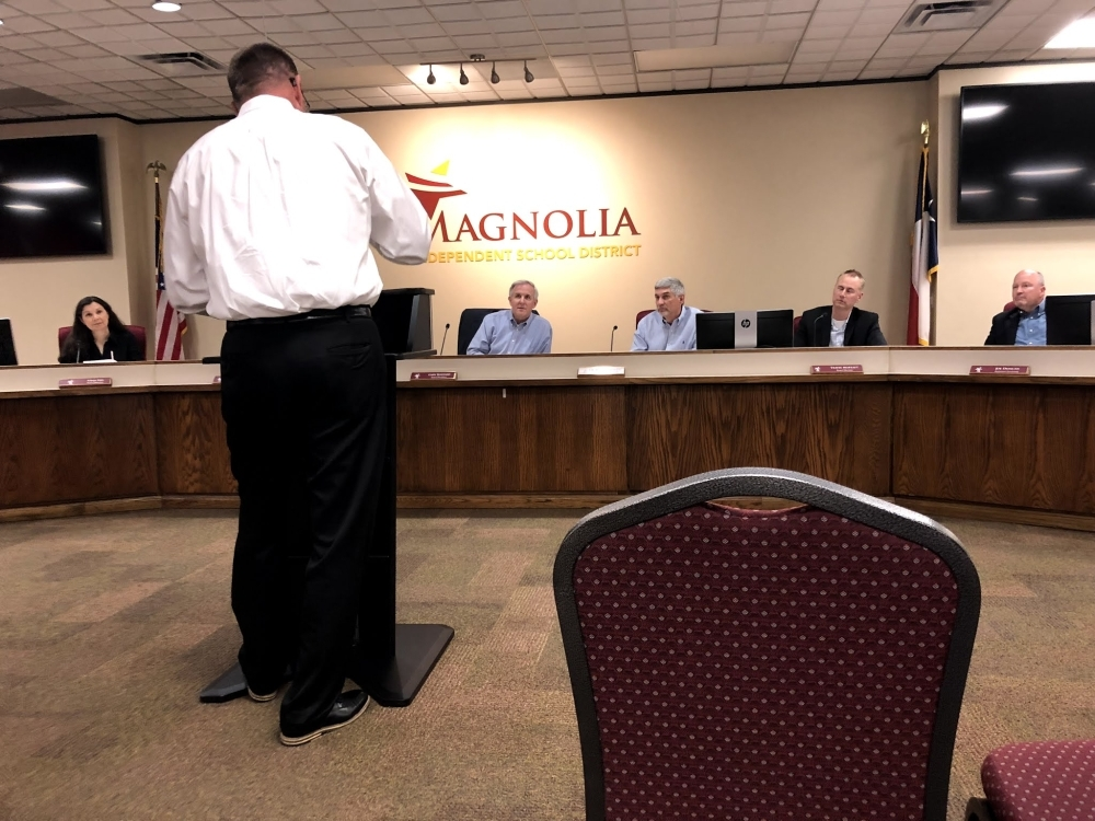 Magnolia ISD staff will have a new day care option at the beginning of the next school year, trustees decided March 16. (Dylan Sherman/Community Impact Newspaper)