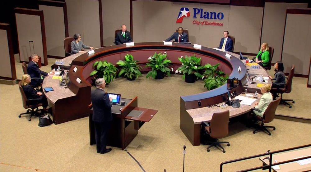 Plano City Council approved restrictions to dine-in services at restaurants as well as closures of gyms, movie theaters and bars in an effort to slow the spread of the new coronavirus. (Courtesy city of Plano)