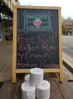 On March 14, Greenhouse Craft Food promoted a special offer. (Courtesy Greenhouse Craft Food)