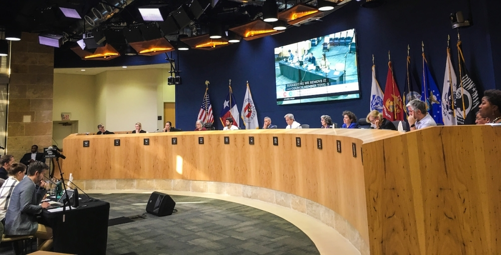 Austin City Council was poised to make a final vote on the land development code rewrite by early April. (CHRISTOPHER NEELY/COMMUNITY IMPACT NEWSPAPER)