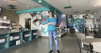 Landon Forgette opened Coral Reef Coffee Co. in Lewisville March 11 with a sense of excitement, not yet knowing the extent of the challenges that were to come due to the coronavirus. (Courtesy Landon Forgette)