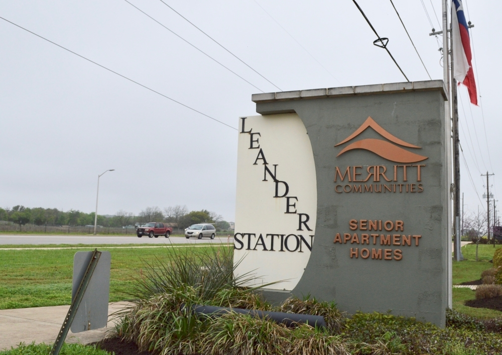 Leander Station Senior Village is one of about 350 senior living communities in Travis County and the surrounding counties. (Taylor Girtman/Community Impact Newspaper)